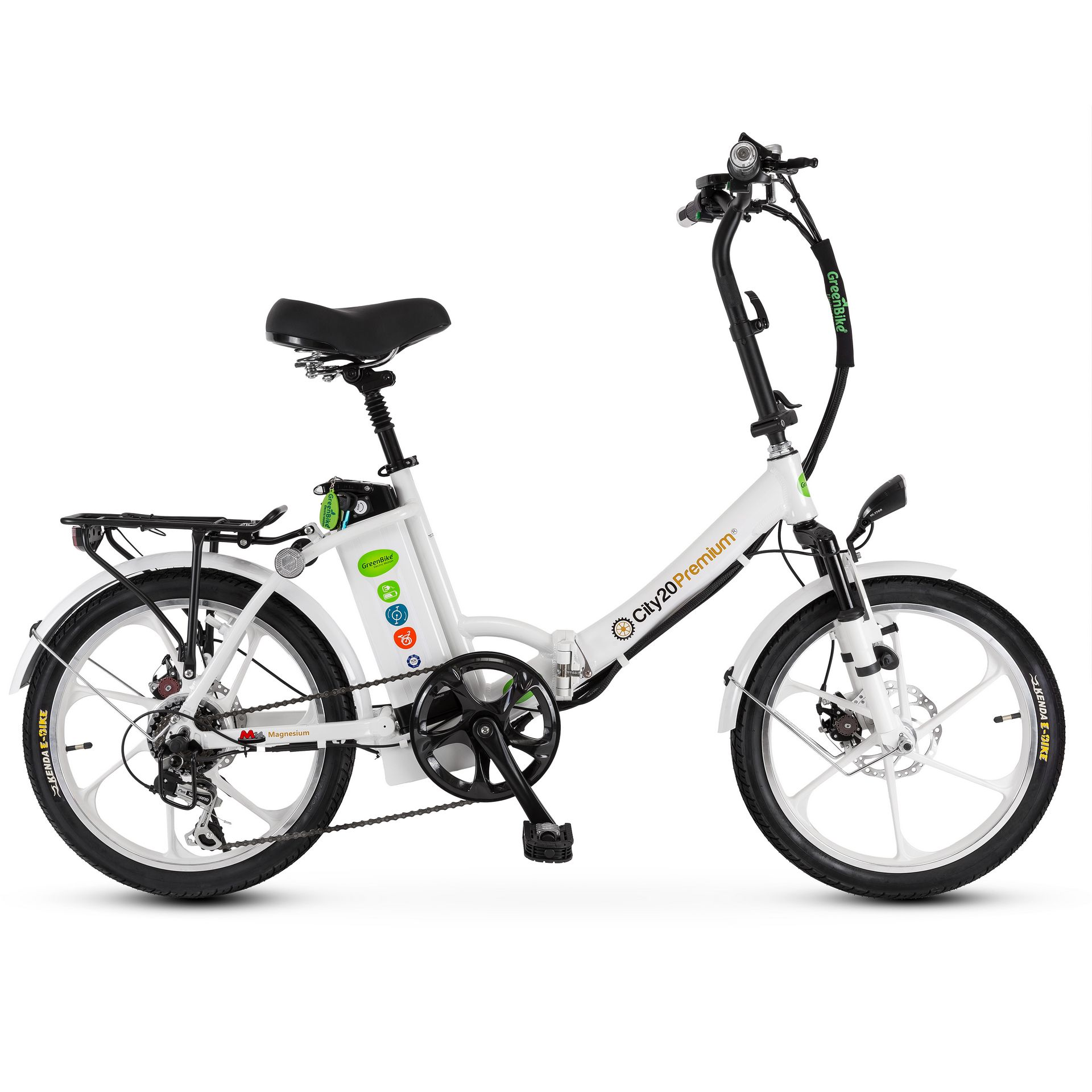 אופניים חשמליים סיטי פרימיום של חברת גרין בייק