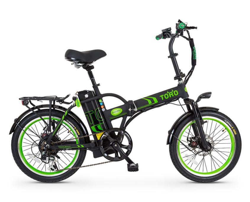 אופניים חשמליים טורו של גרין בייק