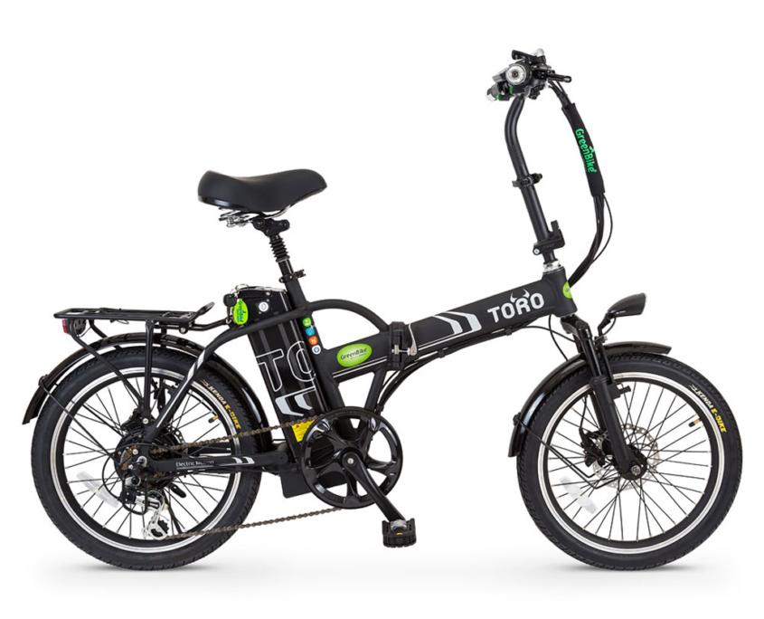 אופניים חשמליים טורו של גרין בייק שחור