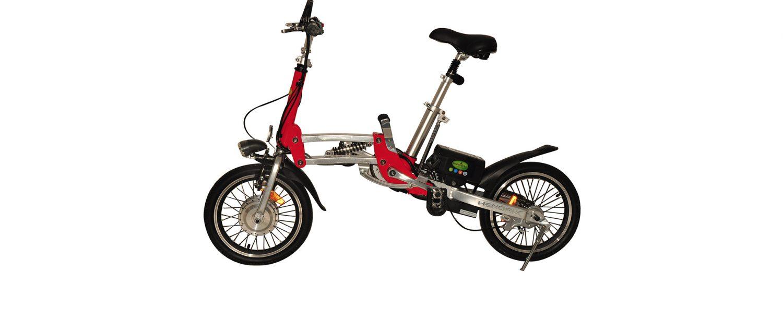 אופניים חשמליים הנדריקס בצבע אדום