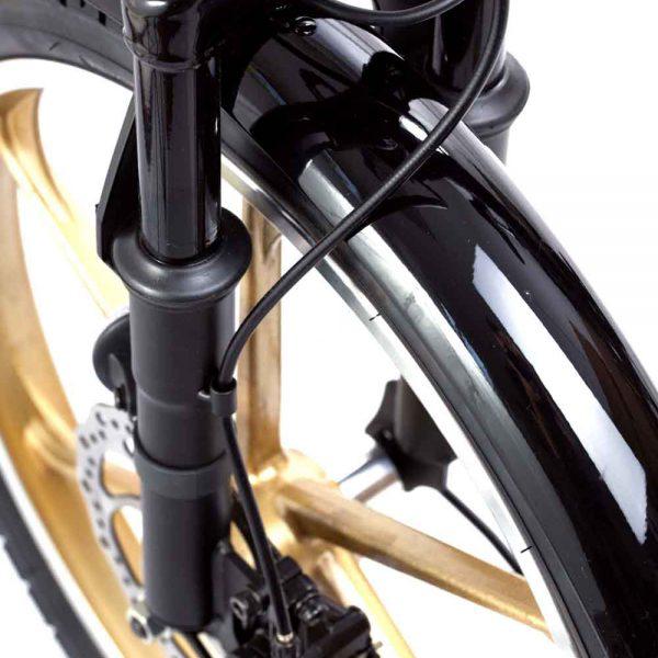 גלגל קדמי של אופניים חשמליים