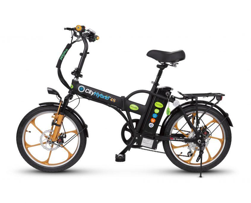 אופניים חשמליים הייבריד של חברת גרין ביק