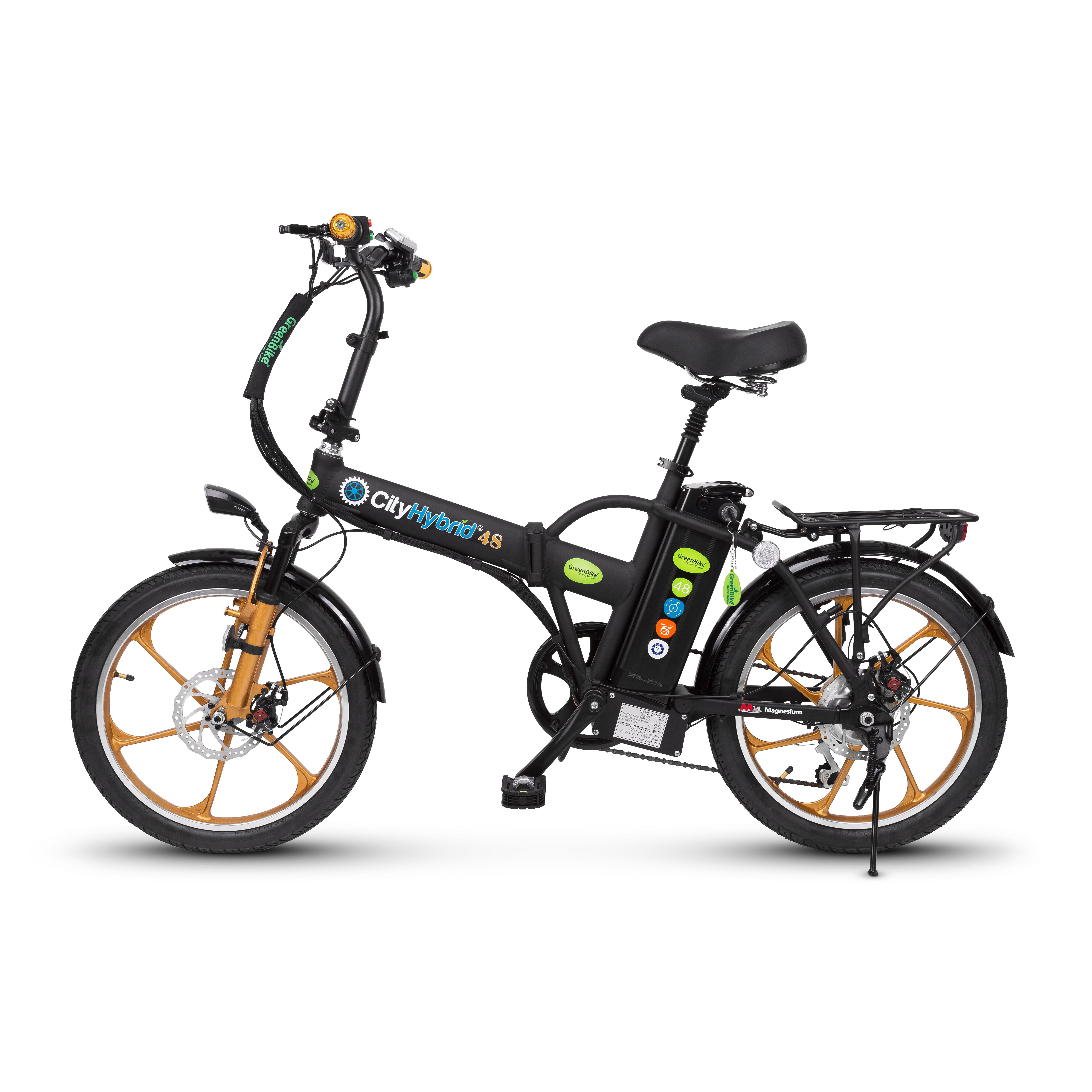 אופניים חשמליות Hybrid 48 – גלגלים שמנים