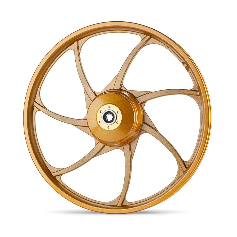 גלגל סגסוגת זהוב של גרין בייק