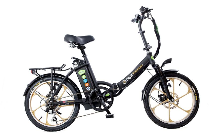 אופניים חשמליים city20premium בשל חברת גרין בייק