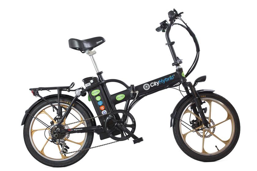 אופניים חשמליים הייבריד בשל חברת גרין בייק