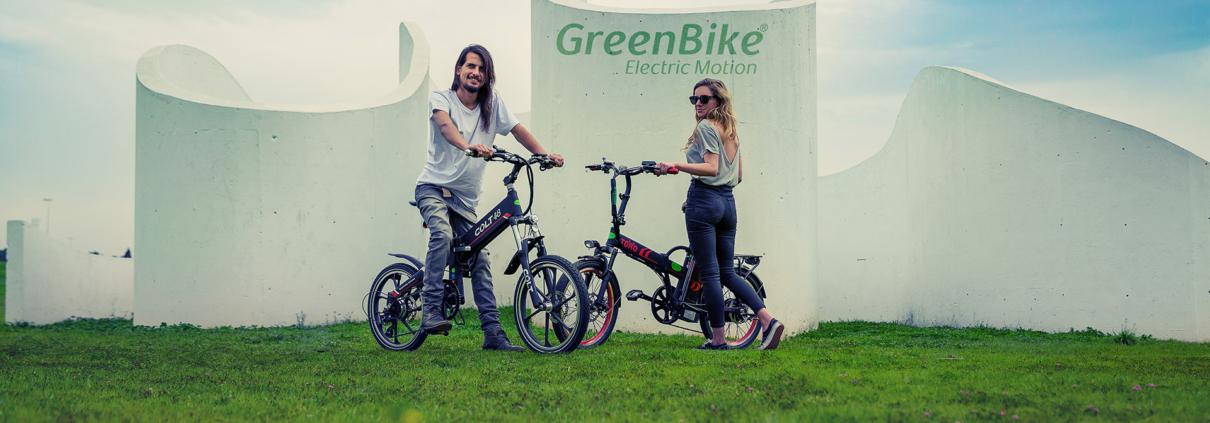 דוגמני אופניים חשמליות גרין בייק