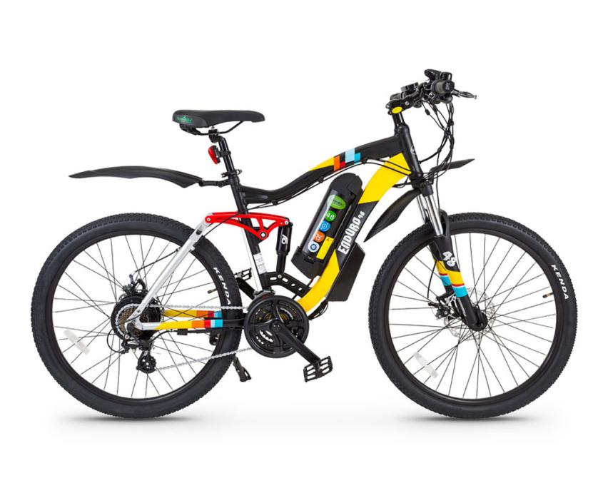 אופניים חשמליים אנדורו של גרין בייק