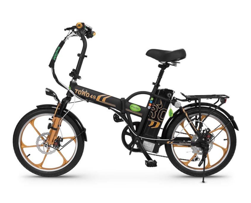 אופניים חשמליים של חברת גרין בייק טורו 48