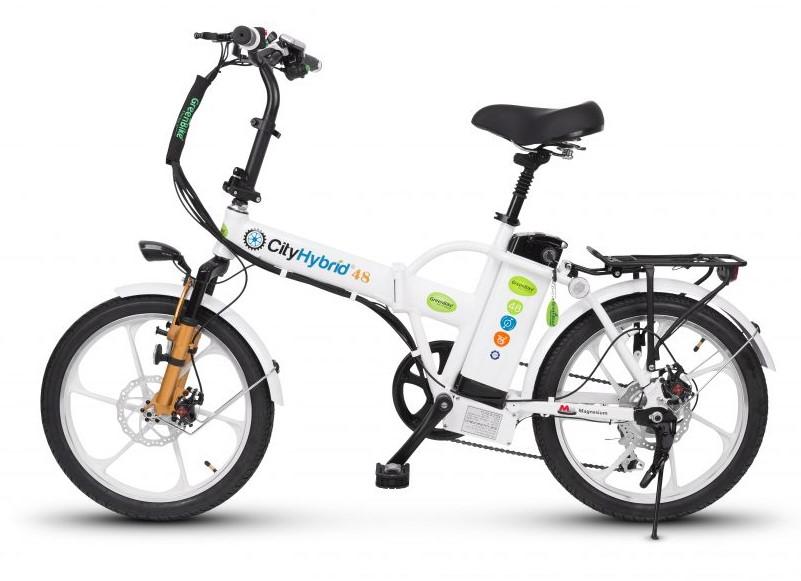 אופניים חשמליות Hybrid 48