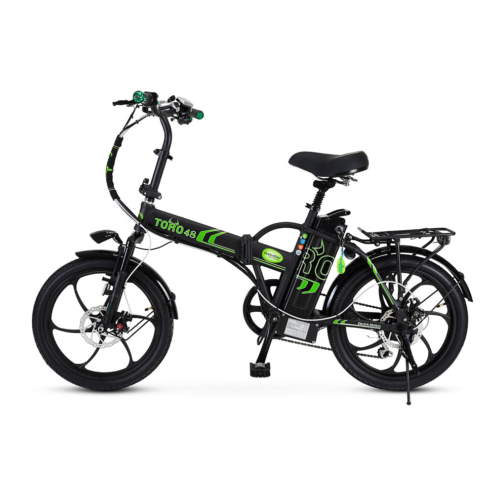 אופניים חשמלים טורו 48 של חברת גרין בייק