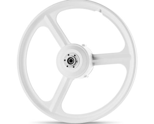 גלגלים לאופניים חשמליים של גרין בייק בצבע אפור