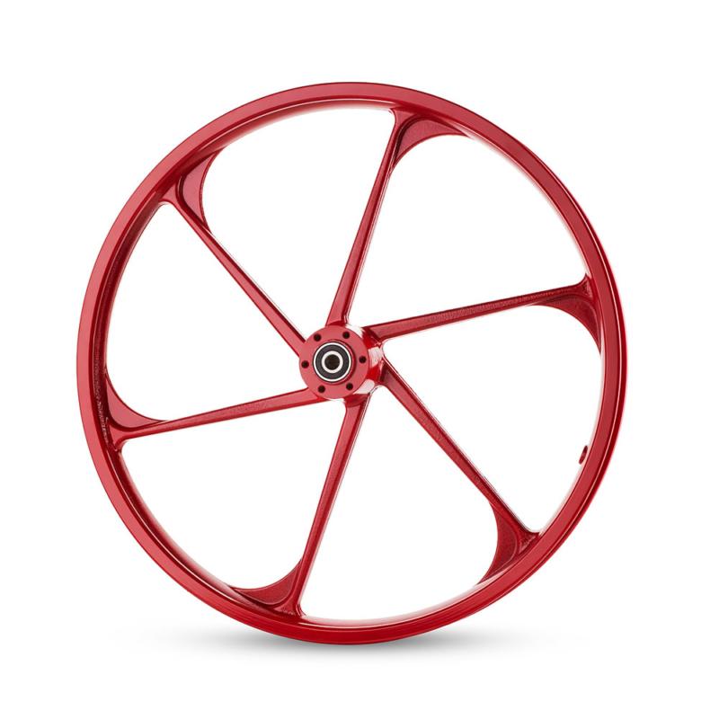 גלגל סגסוגת קדמי של אופני גרין בייק
