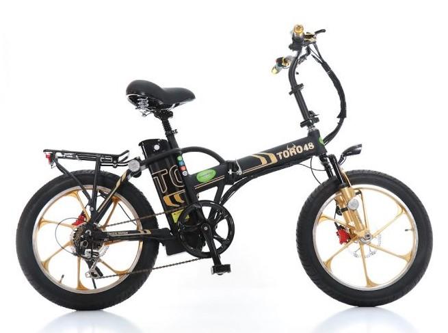 אופניים חשמליות Toro 48 – גלגלים שמנים
