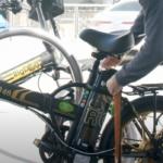 מנעול סוללת אופניים חשמליים של גרין בייק